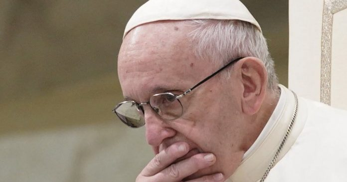 Pope Francis worried by recent development in Catholic Church
