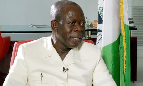Adams Oshiomhole, Chairman of APC