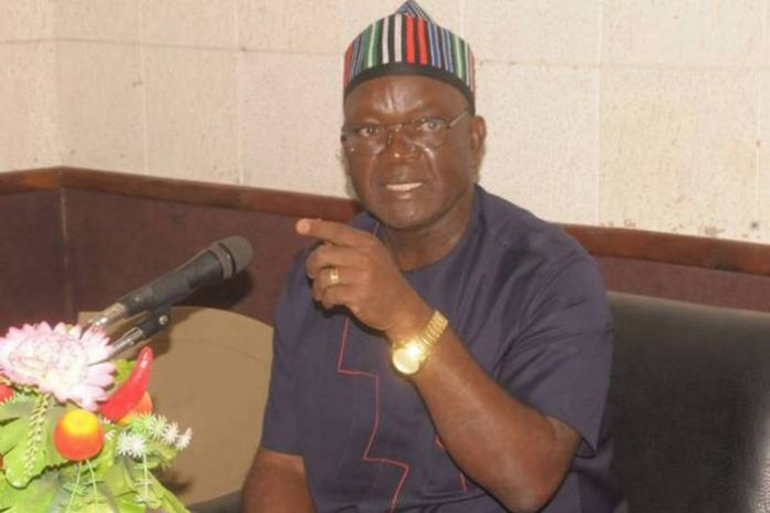 Benue State Gov. Samuel Ortom: APC says he is in panicky mood as PDP deserted in home base