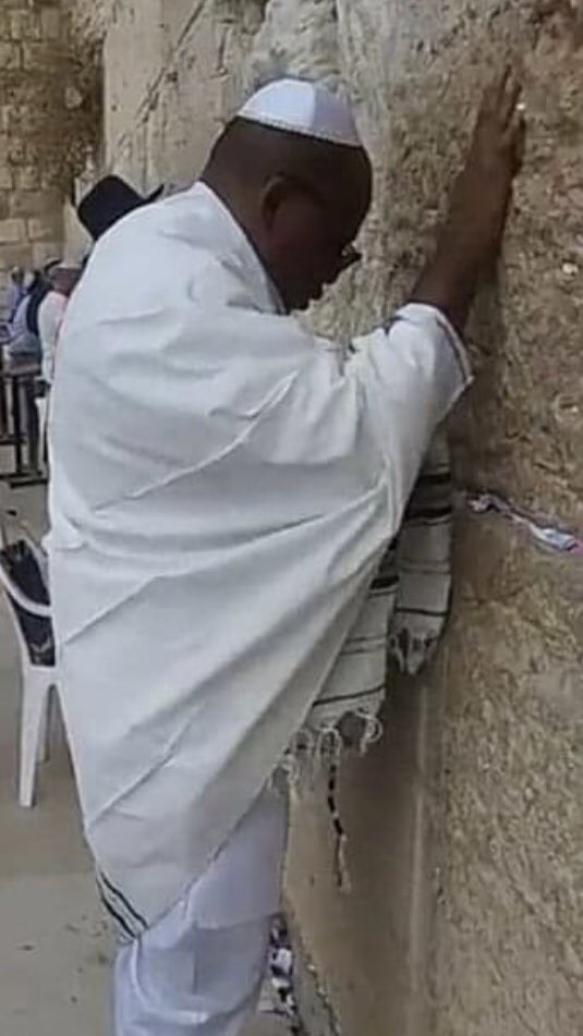 Nnamdi Kanu in Jerusalem