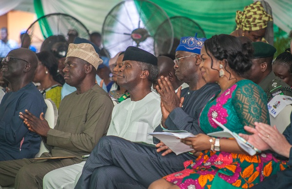 Osinbajo delivers lecture, says he is advocate of restructuring