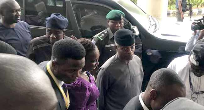 Osinbajo at University of Ibadan to deliver a lecture