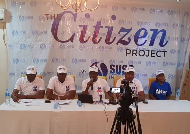 SUSO during a press conference urging Nigerians to stand against criminality