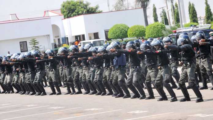 Men of the Nigeria Police