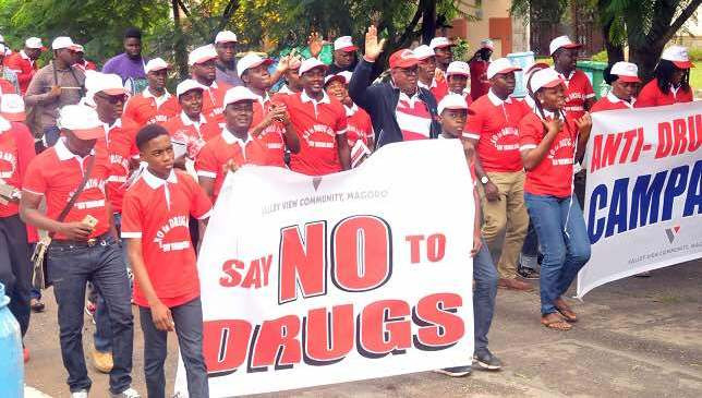 Campaign against drugs